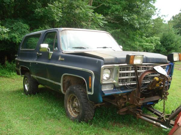 1978 Chevy K5 Blazer V8 Auto For Sale in Eastern Panhandle ...