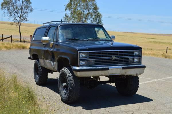 1984 Chevy K5 Blazer Auto For Sale in Patterson ...