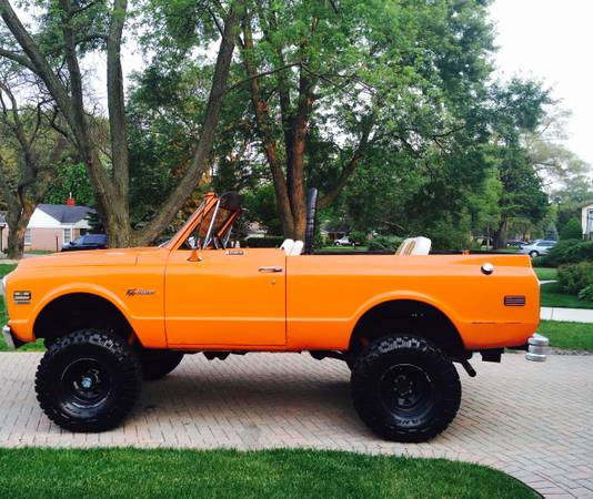 1972 Chevy K5 Blazer 350 Auto For Sale In Chicago