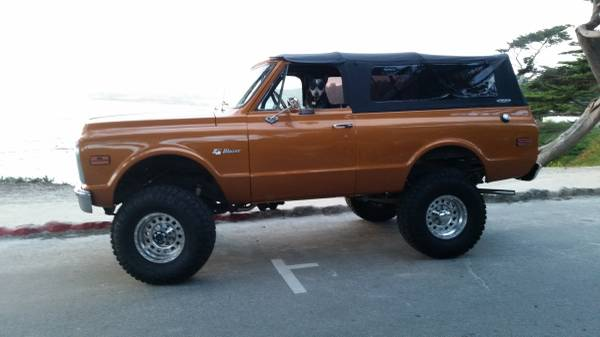 chevy k5 blazer for sale in california 1969 1991. Black Bedroom Furniture Sets. Home Design Ideas