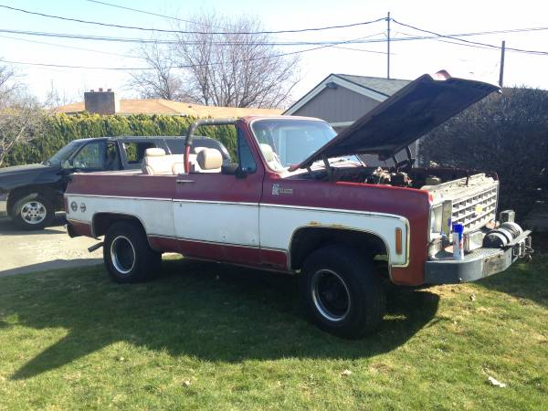 700r4 Transmission For Sale Craigslist >> Chevy K5 Blazer For Sale in Washington | (1969 - 1991)