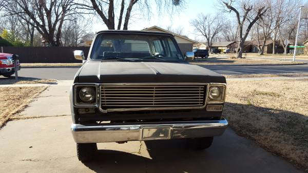 1975 Chevy K5 Blazer Auto For Sale In Tulsa Oklahoma 2 700