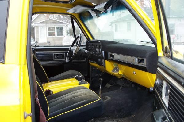 1976 Chevy K5 Blazer V8 Manual For Sale in Fargo, North ...
