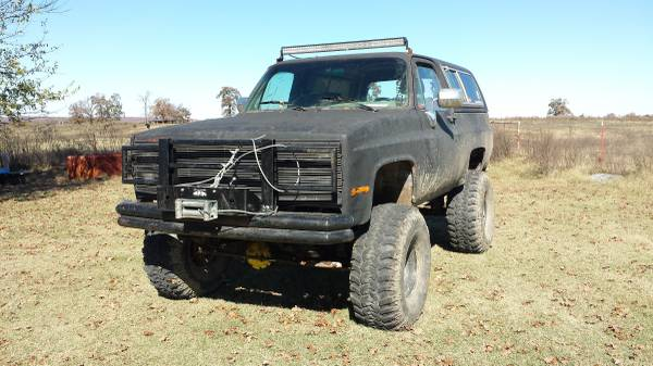 1986 Chevy K5 Blazer 350 Manual For Sale in McAlester ...