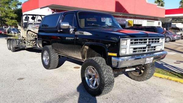 1987 Chevy K5 Blazer V8 Auto For Sale In Houston Texas 15 500
