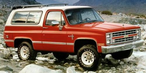Chevy K5 Blazer Features & Specs | (1969-1991) Production #s