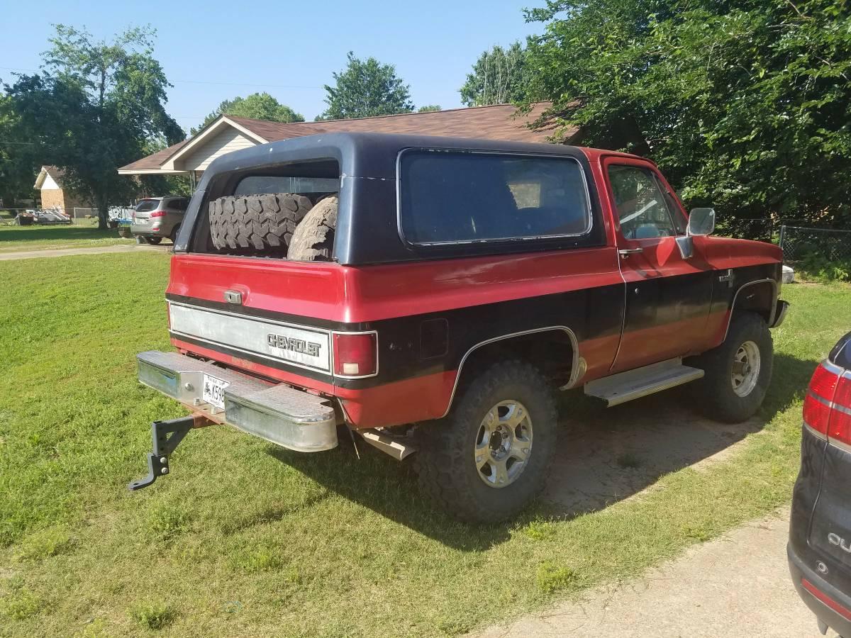 1986 Chevy K5 Blazer V8 Manual For Sale in Jonesboro ...