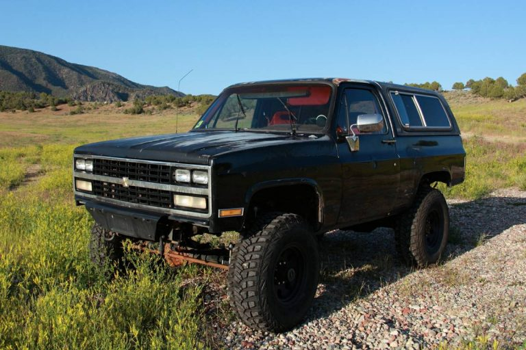 1990 Chevy K5 Blazer V8 Automatic For Sale in Rifle ...