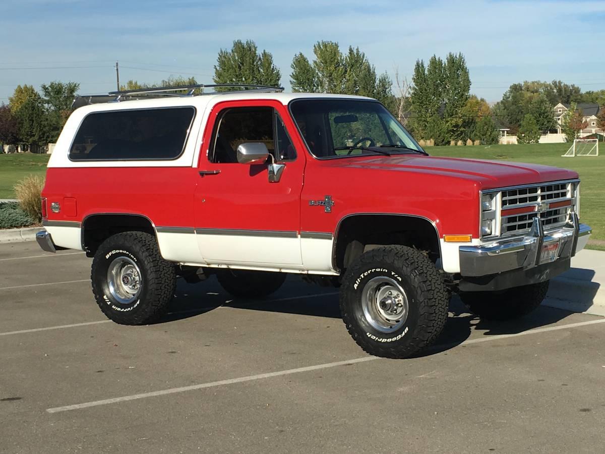 1986 Chevy K5 Blazer 5 0l V8 Auto For Sale In Boise Idaho 12 000