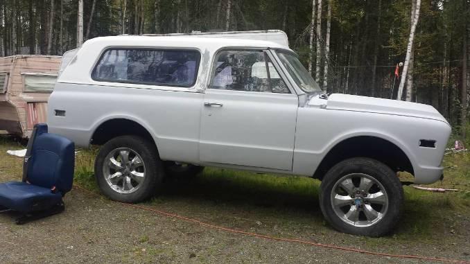 1970 Chevy K5 Blazer Project For Sale in Houston, Alaska - $6K