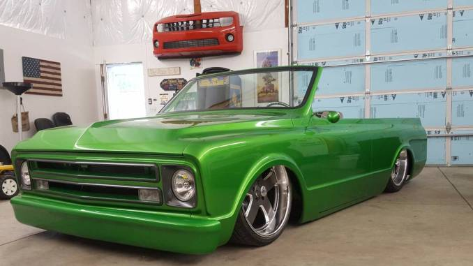 1971 Chevy K5 2WD Air Bagged Blazer For Sale in Billings ...