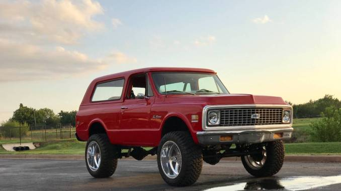 1972 Chevy K5 Blazer Lifted Full Restoration For Sale In Okc Oklahoma