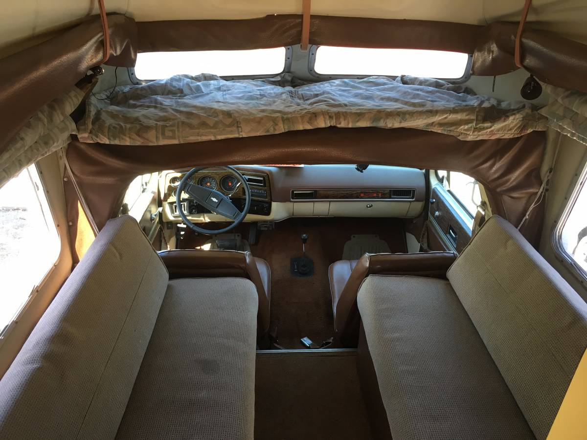1976 K5 Blazer Cheyenne Chalet Pop Top Camper For Sale In