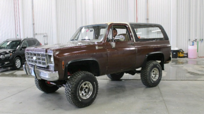 1978 Chevy K5 4X4 400HP Blazer For Sale in Montreal, Quebec