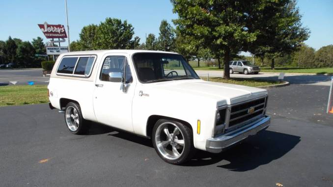 chevy k5 blazer for sale in kentucky 1969 1991. Black Bedroom Furniture Sets. Home Design Ideas
