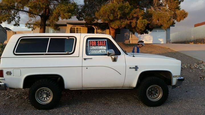 1988 Chevy K5 Blazer 4X4 V8 Auto For Sale in Boise, Idaho ...