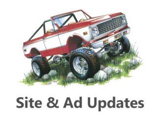 Site & Ad Updates