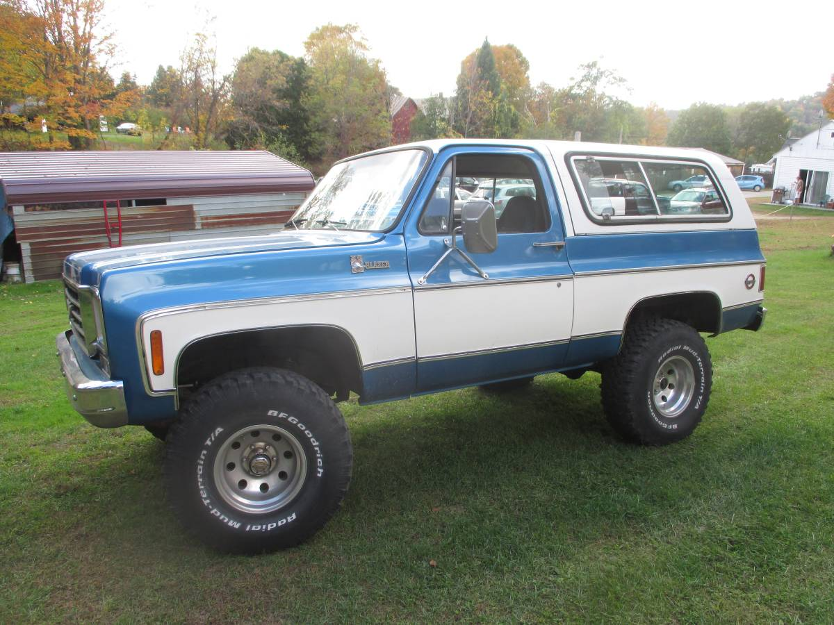 1976 Chevy K5 Blazer 350 Auto For Sale in Lyme, New ...