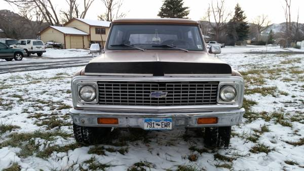 1972 Chevy K5 Blazer V8 Auto For Sale in Fort Collins ...