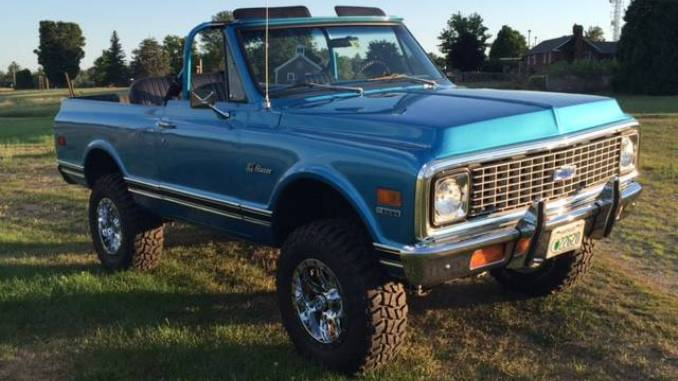 1972 Chevy K5 Blazer V8 350 Crate 4spd Manual For Sale in Laconia, NH