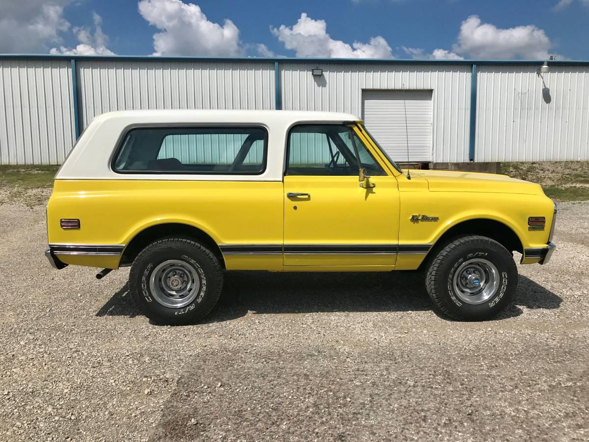 1972 Chevy K5 Blazer 350 Auto For Sale in Sherman, Texas ...