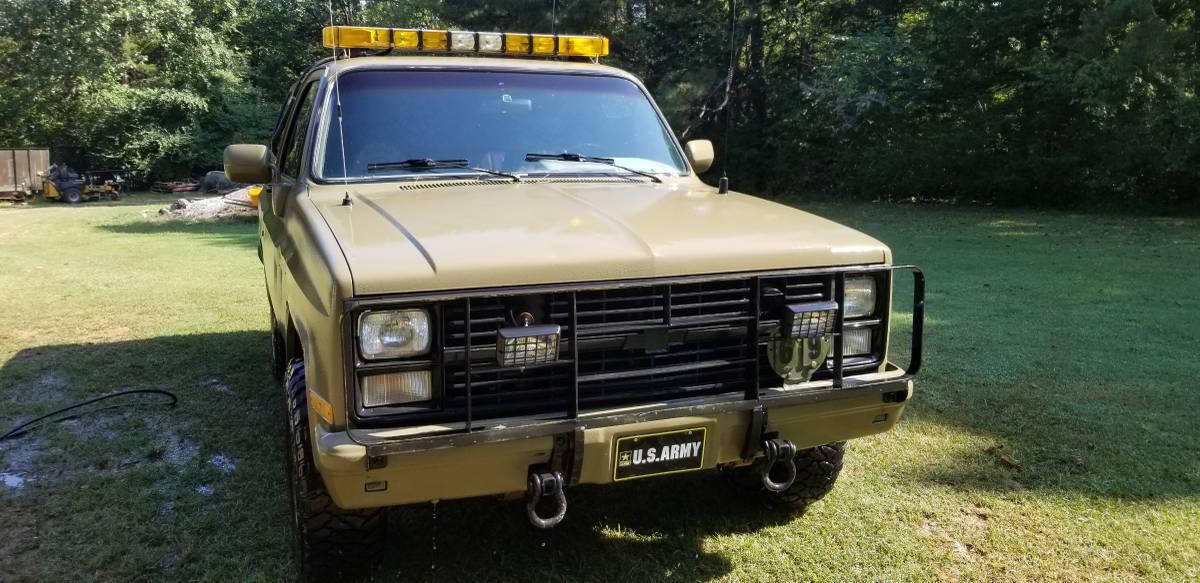 1985 Chevy K5 Blazer V8 Auto For Sale in Fayetteville ...