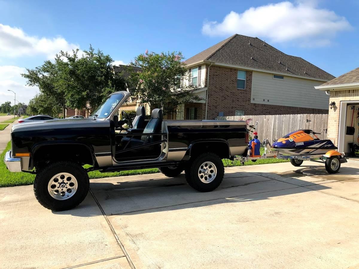 1985 Chevy K5 Blazer V8 Auto For Sale in League City, TX ...